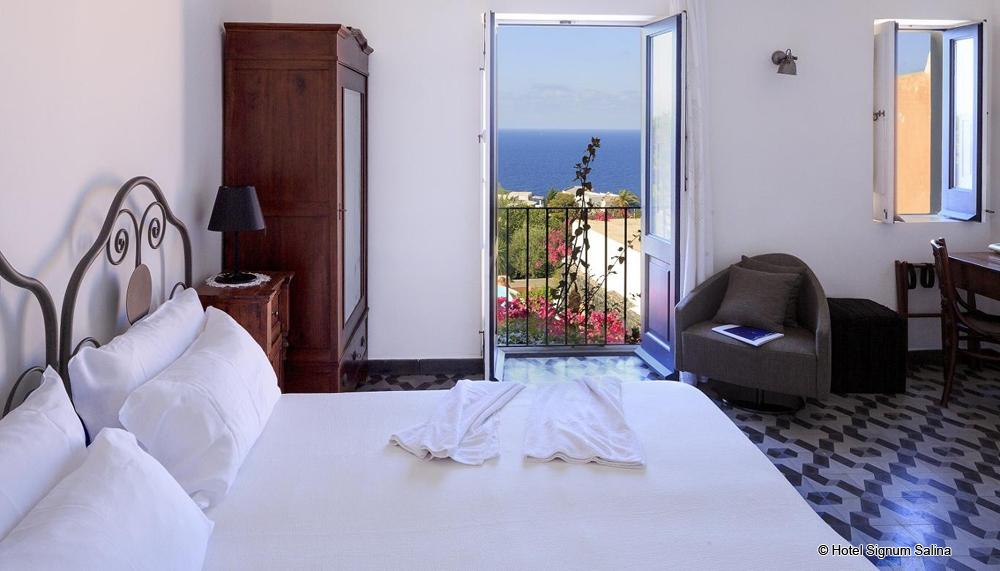 Hotel signum salina aelian island hotel malfa saline island luxushotel salina liparische insel